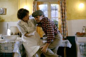 Qu'est ce qui fait courir David ? by Elie Chouraqui with Charles Aznavour, 1982 (photo)