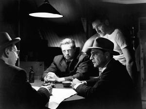 Quand la ville dort THE ASPHALT JUNGLE by John Huston with JSam Jaffe, Sterling Hayden, anthony Car