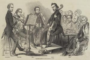 Quartet Party at the Musical Union