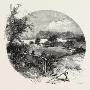 Quebec, View from the Old Manor House at Beauport, Canada, Nineteenth Century