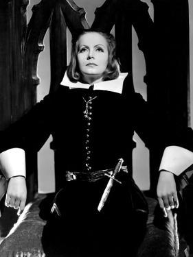 Queen Christina, Greta Garbo, Portrait By Clarence Sinclair Bull, 1933