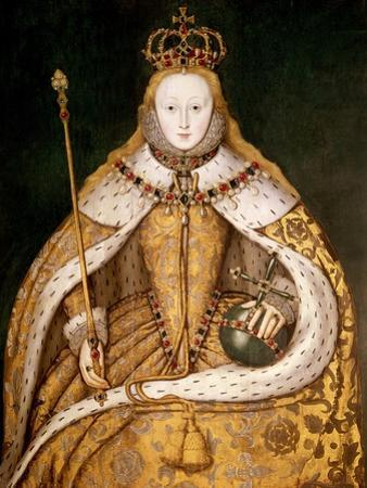 Queen Elizabeth I in Coronation Robes, circa 1559