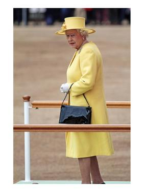 Queen Elizabeth II at her Annual Birthday Parade Trooping the Colour