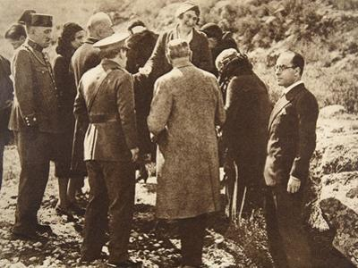 Queen Ena of Spain Going into Exile, April 15, 1931