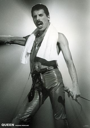Queen- Freddie Mercury Live On Stage