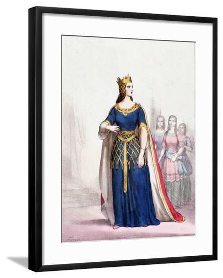 Queen Macbeth in the Opera by Giuseppe Verdi--Framed Giclee Print