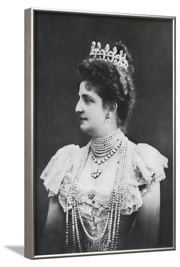 Queen Margharita of Italy--Framed Photographic Print