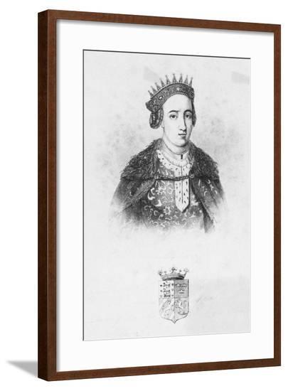 Queen Margrethe I of Denmark--Framed Giclee Print