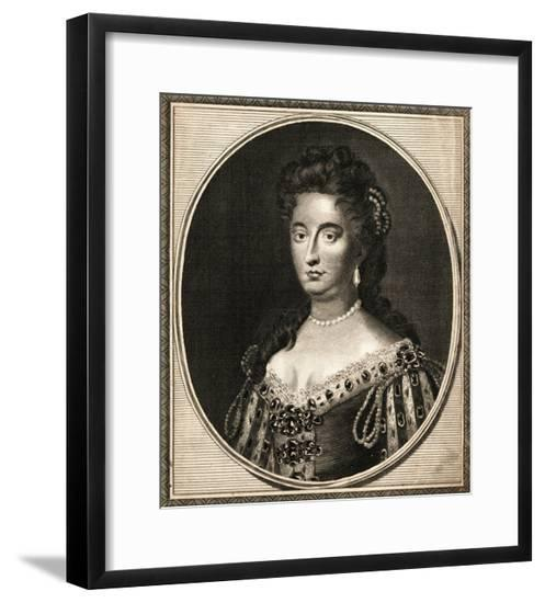 Queen Mary II of Great Britain--Framed Giclee Print