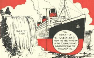 Queen Mary versus Niagara Falls