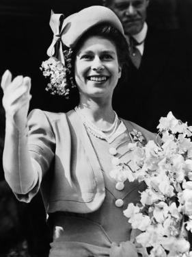 Queen of England Princess Elizabeth, Buckingham Palace, London, England, October, 1947