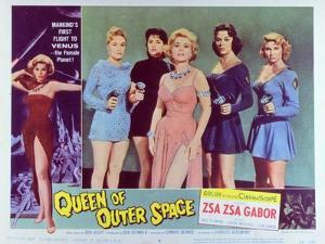 Queen of Outer Space, 1958