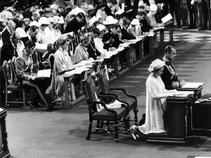 Queen Silver Jubilee at St Pauls Cathederal
