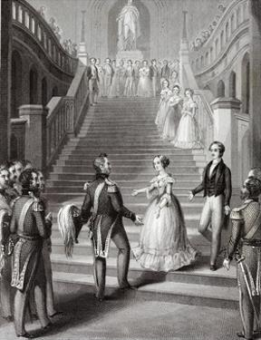 Queen Victoria Receiving Louis Philippe I, the King of France