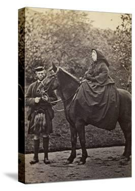 Queen Victoria with Her Highland Servant, John Brown, at Balmoral