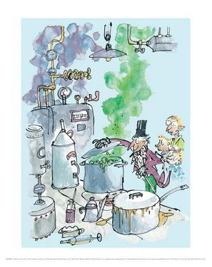 Charlie and the Chocolate Factory - Willy Wonka by Quentin Blake