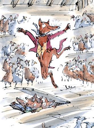 Fantastic Mr Fox by Quentin Blake