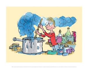 Georges Marvellous Medicine by Quentin Blake