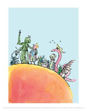 James and the Giant Peach by Quentin Blake