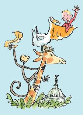 The Giraffe and the Pelly and Me by Quentin Blake