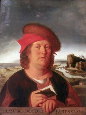 Paracelsus Aracelsus (1493-154), Swiss-Born German Physician and Alchemist by Quentin I Metsys