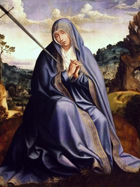 Our Lady of Sorrows, 1509-1511, Central Panel of Altarpiece from Mother of God Church by Quentin Massys