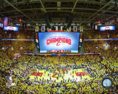 Quicken Loans Arena Celebration Game 4 of the 2015 Eastern Conference Finals