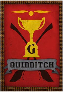 Quidditch Champions House Trophy Gryffindor