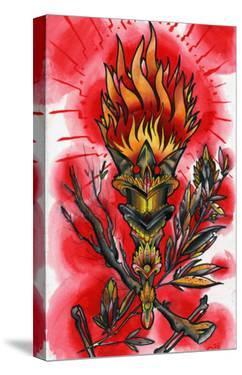 Runic Torch by Quinn
