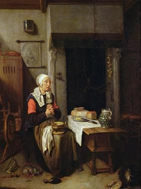 The Grace (Oil on Panel) by Quiringh Gerritsz. van Brekelenkam