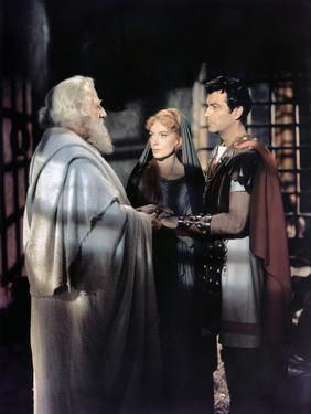Quo Vadis ? by Mervyn Le Roy with Finlay Currie, Deborah Kerr and Robert Taylor, 1951 (photo)
