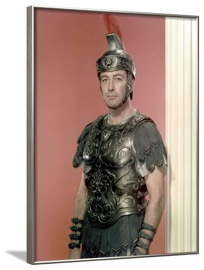 QUO VADIS by MERVYNLeROY with ROBERT TAYLOR, 1951 (photo)--Framed Photo