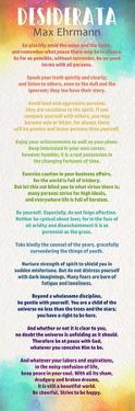 Colorful Desiderata by Quote Master