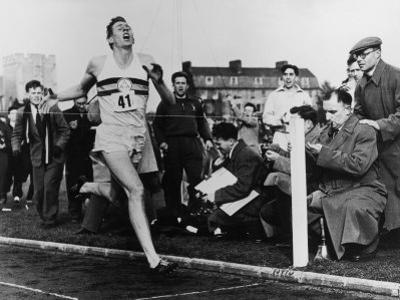 R. Bannister Runs Mile