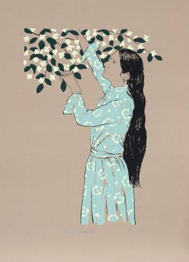 Picking Flowers by R. Bienert