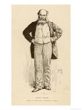 Anthony Trollope English Novelist by R. Birch