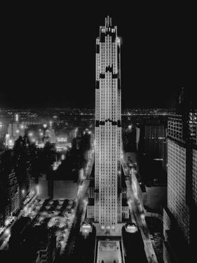 R.C.A. Building at Rockefeller Center, New York