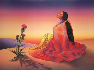 Navajo Dawn by R. C. Gorman