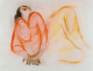 Reclining Woman by R. C. Gorman