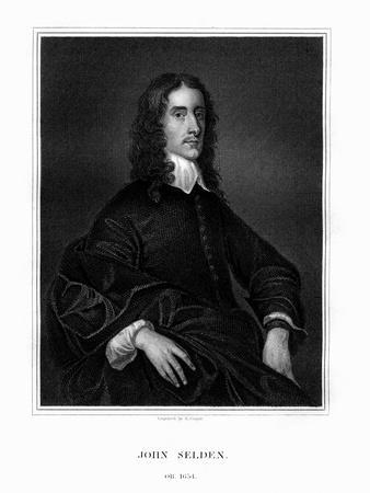 John Selden, English Jurist, Legal Antiquary and Oriental Scholar