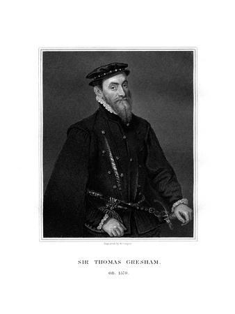 Sir Thomas Gresham, English Merchant and Financier