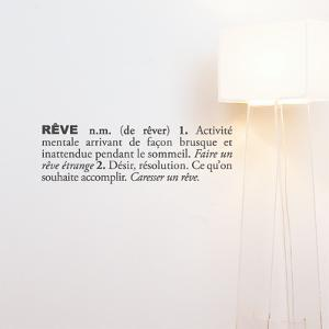 R? (french) Wall Decal