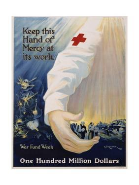 Keep This Hand of Mercy at its Work Poster by R.G. Morgan