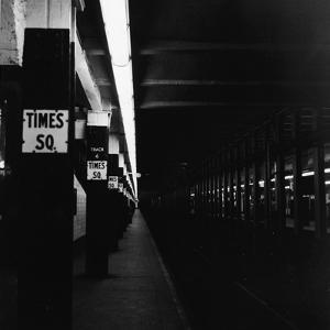 NYC Subway Platform by R. Gates