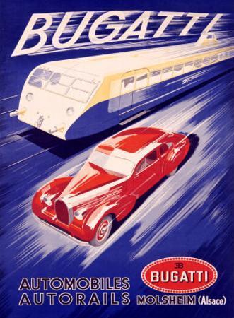 Bugatti by R. Géri