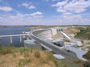 Alqueva Dam, Portugal's Largest Dam, Near the Spanish Border, Alentejo Region, Portugal by R H Productions