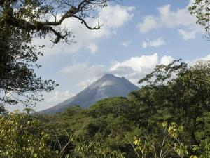 Arenal Volcano from the Sky Tram, Costa Rica, Central America by R H Productions