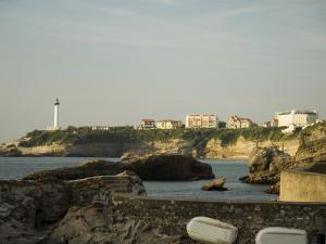 Biarritz Lighthouse, Biarritz, Basque Country, Pyrenees-Atlantiques, Aquitaine, France by R H Productions