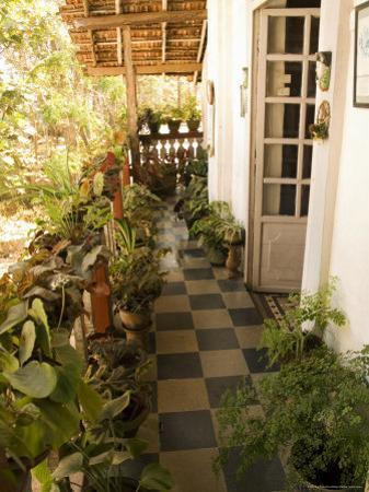 Braganza House, an Old Portuguese House, Goa's Largest Private Dwelling, Chandor, Goa, India by R H Productions