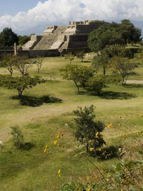 Building 5, the Ancient Zapotec City of Monte Alban, Unesco World Heritage Site, Oaxaca by R H Productions